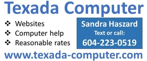 Texada Computer - websites and computer help at reasonable rates